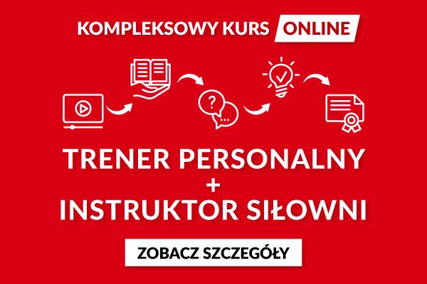 Kurs trener personalny - Online